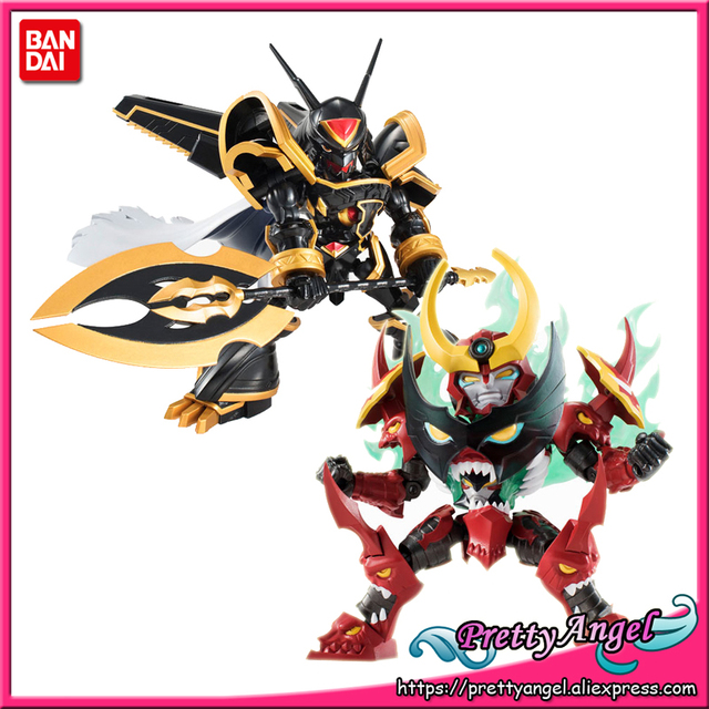 PrettyAngel   Genuine Bandai Tamashii Nations NXEDGE STYLE Alphamon Gurren Lagann Toy Figure