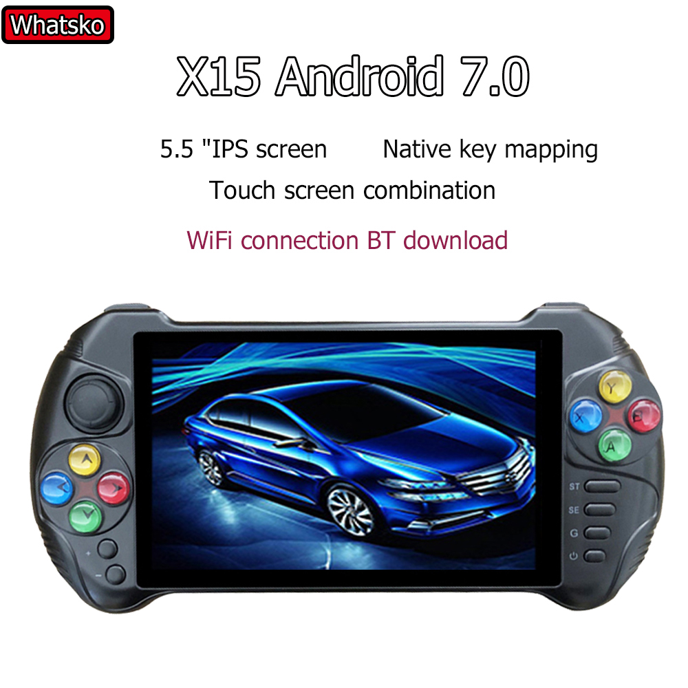 Powkiddy X15 Andriod handheld game console 5.5 inch screen quad core 2G suitable for RAM 32G ROM video handheld game con