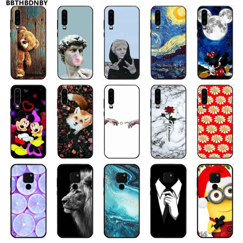 Phone Case  Newly Arrived Black Cell Phone Case for Huawei P10 lite P20 pro lite P30 pro lite Psmart mate 20 pro lite