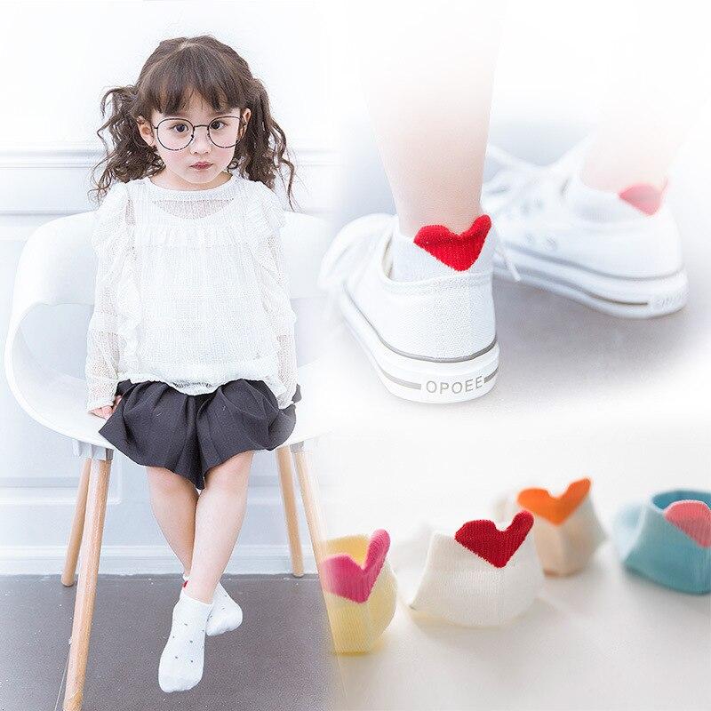 Summer Thin Section CHILDREN'S Socks South Korea Cartoon Cute Cotton Socks Three-dimensional Men And Women Children Invisible An