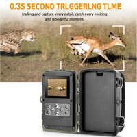 Neueste 16MP HC802A Jagd Kamera VGA 1080P Foto Fallen Nacht Vision Wildlife infrarot Jagd Trail Kameras jagd für Outdoor