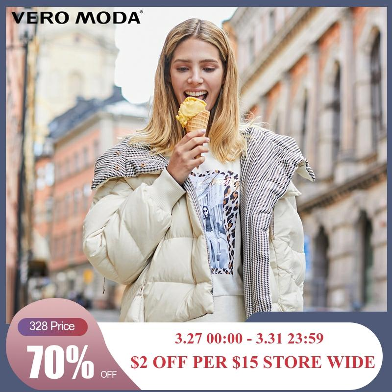 Vero Moda Women's Double-faced Hooded Down Jacket | 319423522