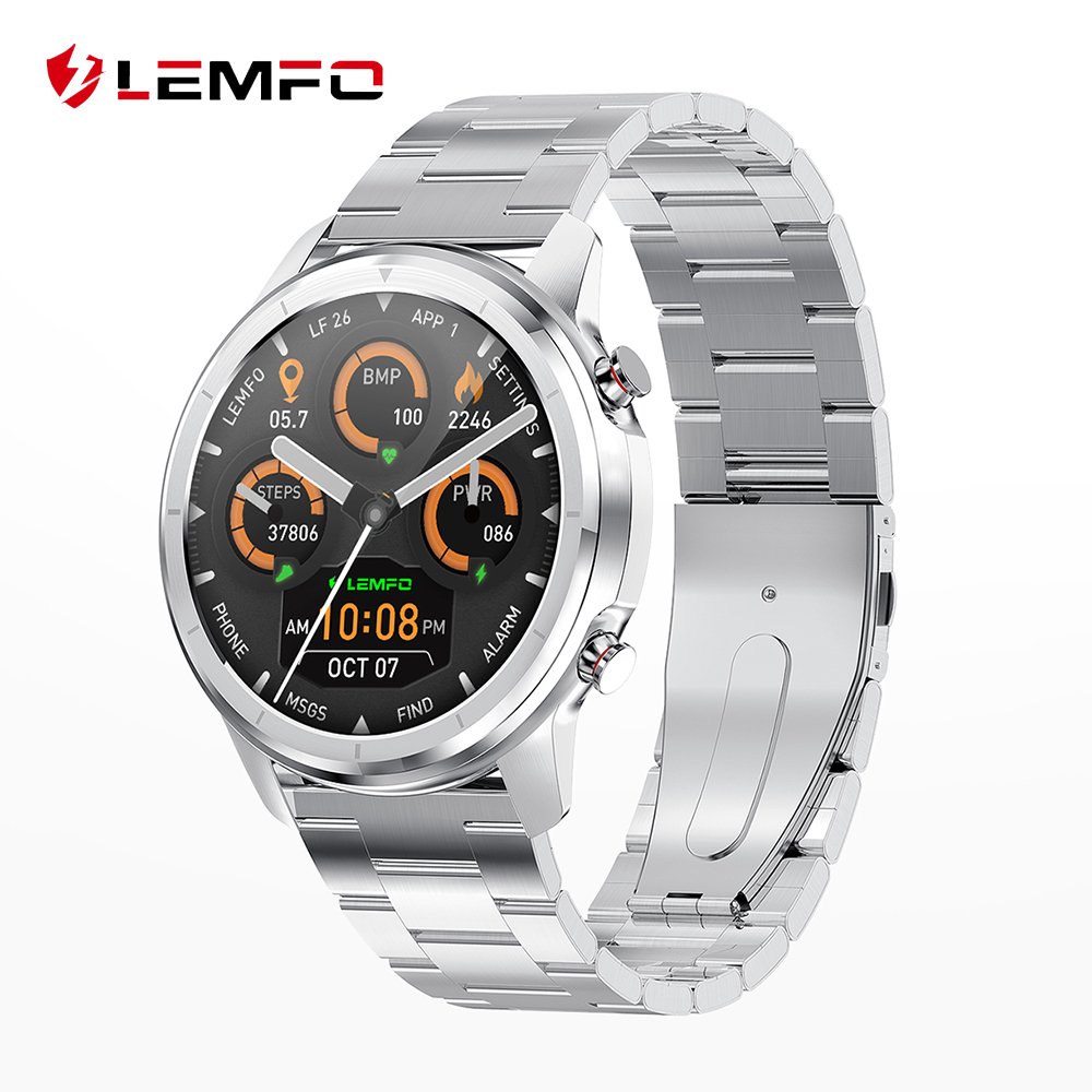 LEMFO LF26 Full Touch 360*360 HD Amoled Screen Smart Watch Men Bluetooth 5.0 Weather Watch Face IP67 Waterproof Smartwatch|Smart Watches| - AliExpress