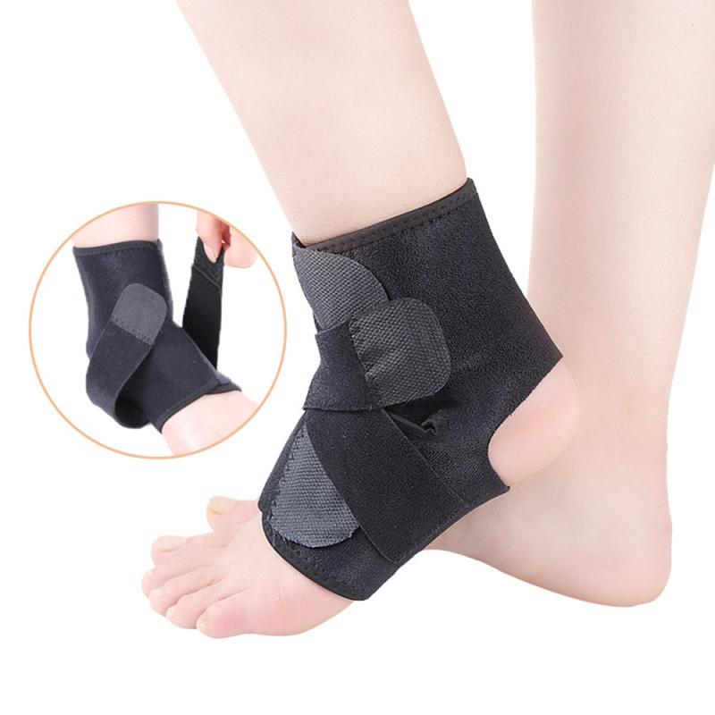 Регулируемая Лодыжка спортивный защитный механизм анти-Твист ноги Баскетбол Бег бадминтон давление защита лодыжки 1 шт