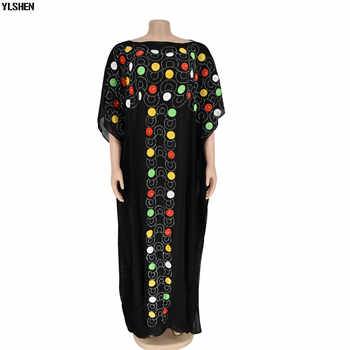 African Dresses for Women Dashiki Diamond African Clothes Gown Bazin Riche Sexy Robe Boubou Africaine Long Africa Dress Clothing - Category 🛒 All Category