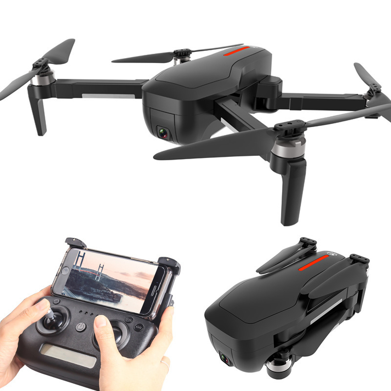 Brushless Unmanned Aerial Vehicle Remote Control GPS Quadcopter High-definition Aerial Photography 4K Pixel Sg906 Accurate Retur