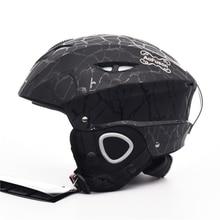 Professional Goggles Mask Ski Helmet Integrally-molded Men Women Safety Ultralight Warm Snow Skateboard Snowboard Skiing Helmet цена в Москве и Питере