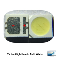 200pcs SEOUL High Power LED LED Backlight 2W 3535 6V Cool white 135LM TV Application