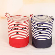 Foldable Cloth Organizer Laundry Bag Laundry Basket Large Hamper Storage Home Toy Accessories Organizer Kids Print Dirty Clothes