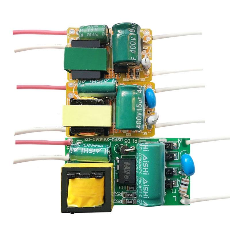 8W 18W 25W 36W 50W 300mA светодиодный драйвер, 60 Вт, 80 Вт, 600mA постоянный ток светильник трансформатор AC200-240V Мощность адаптер для светодиодный лампы