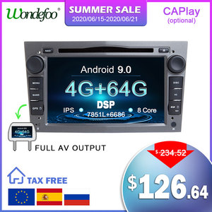 Image 1 - Android 9.0 4 core/8 core IPS screen DSP 2 DIN Car GPS For opel Vauxhall Astra H G J Vectra Antara Zafira Corsa DVD PLAYER