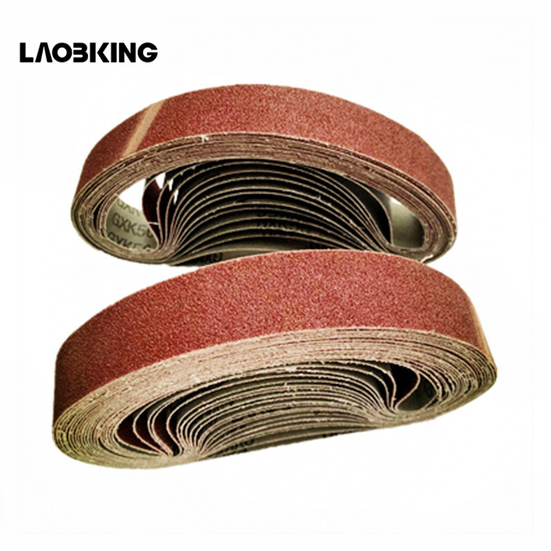 533*30 Brown Alumina-Jade Ring Belt 60-1000 Grinding Wheel For Grinding And Polishing, Full Style For Angle Grinding Machine