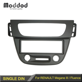Din Audio Fascia for RENAULT Megane III Fluence Radio CD GPS DVD Stereo CD Panel Dash Mount Installation Trim Kit Frame image