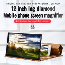 Bracket Magnifier Expander-Holder Phone-Screen Video Folding 12inch 3D HD Movie-Cell