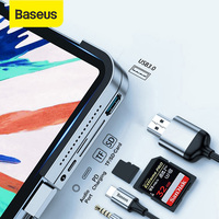 Baseus-HUB USB C a USB 3,0 HDMI, compatible con iPad de tipo profesional C, estación de acoplamiento para MacBook Pro