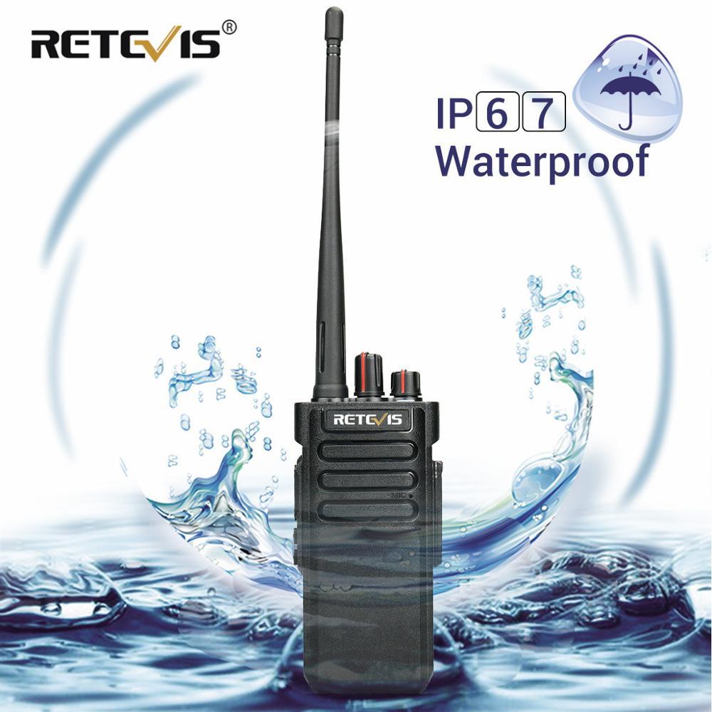 High-power Walkie Talkie Retevis RT29 UHF VHF VOX Scrambler Scan IP67 Two Way Radio Station HF Transceiver Waterproof Optional