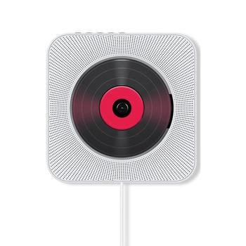 MOOL Wall-Mounted Bluetooth CD Player Bluetooth Prenatal Education Speaker Sounds Cd English Learning Machine (EU Plug)
