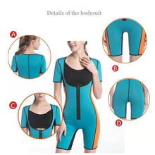 Women Waist Trainer Corsets Weight Loss Shaper Sports Girdle Fitness Yoga Zipper Bodysuit THJ99