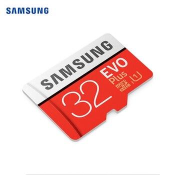 Original SAMSUNG Memory Card EVO Puls 256GB 128GB 64GB Microsd Micro SD 32GB 64GB TF card DHC SDXC Grade C10 U1 U3