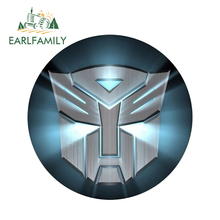 EARLFAMILY 13cm x 3D Car Stickers Transformers Logo Cool Styling Waterproof Body Bumper Decals Door Decoration