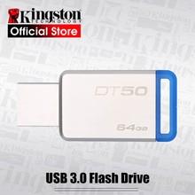 Kingston DT50 USB 3.0 USB Flash Drive 16GB Pendrive 128GB 32GB Pendrive 64GBGB Metal Pen Drives DT104 USB2.0 Memory U Stick