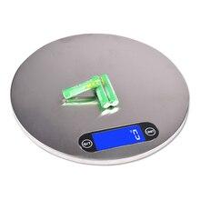 цена на Electronic Balance Scales Digital Measuring Weighing Kitchen 5000g/1g Food Scale LCD Display High Precision Sensor kitchen libra
