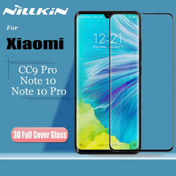 for Xiaomi Mi CC9 Pro Note 10 Pro Tempered Glass Screen Protector Nillkin 3D Full Coverage Safety Glass for Xiaomi Mi Note10 Pro|glass film|full cover|screen protector glass -