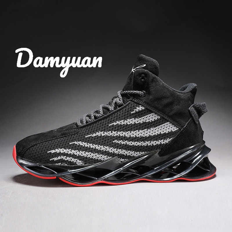 Damyuan Running Shoes 2019 New Light Casual Comfortable Breathable Man Sneakers Non-slip Height Increasing Men Sport Shoes