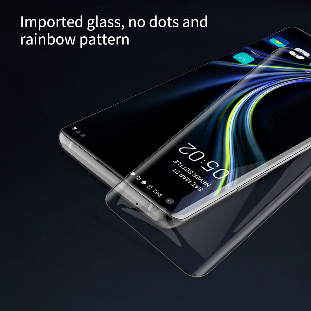 Oneplus 8 Pro Nillkin Amazing 3D DS+ Max Tempered Glass Protector 3