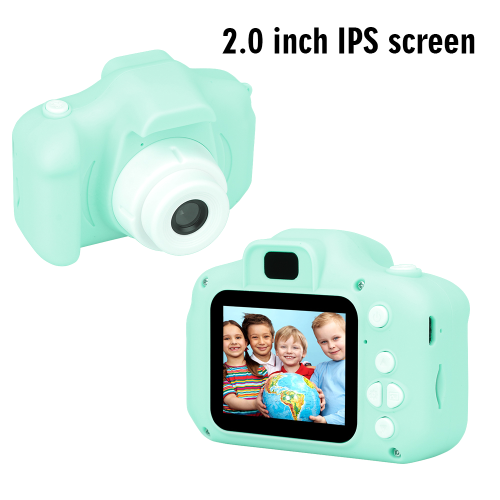 New Arrive  Cheap Rechargeable Photo Video Playback Cameras Kids Toy For Girl 32GB Mini Children's Camera Child Birthday Present 16