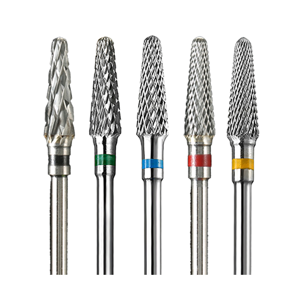 1pcs Carbide Milling Cutters Rotary Nail Drill Bit Electric Manicure Pedicure Burr Machine Equipment Nail Art Tool Accessories