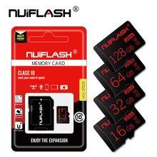 Cartão do flash do tf da memória do sd 64gb para o smartphone cartão de memória realmente da capacidade micro sd class10 8gb 16gb 32gb tarjeta