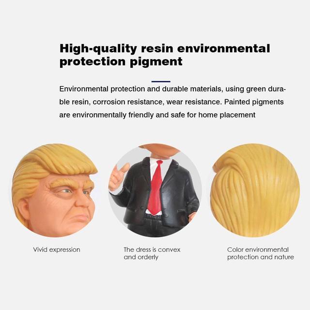 Donald Trump Suit Bobblehead For Car 2