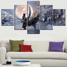 5 шт. картины на холсте аниме плакат HD печатает Живопись Домашний Декор рамки картина на стену для Гостиная & Спальня украшения