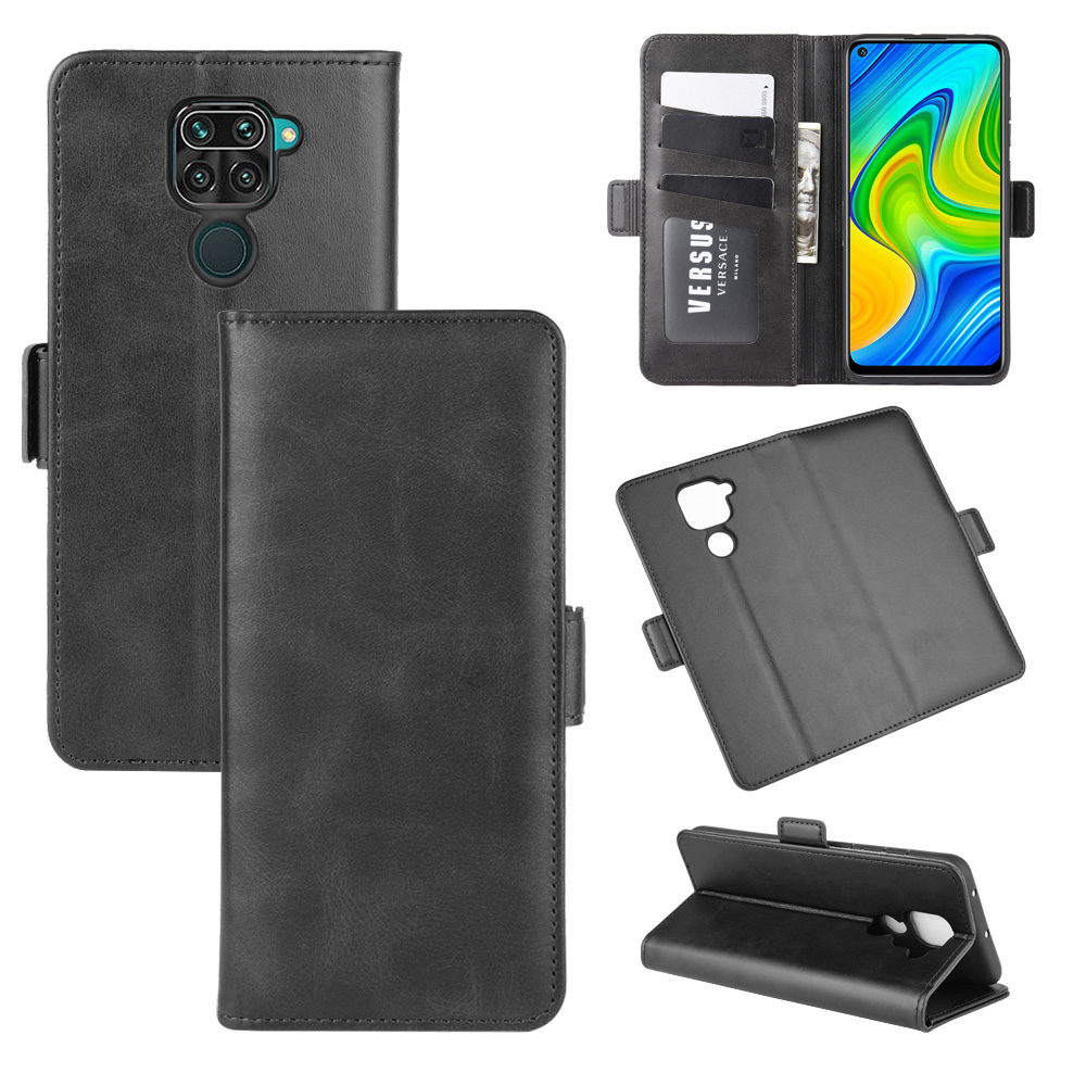 Case For Xiaomi Redmi Note 9 Leather Wallet Flip Cover Vintage Magnet Phone Case For Redmi 10X 4G Coque
