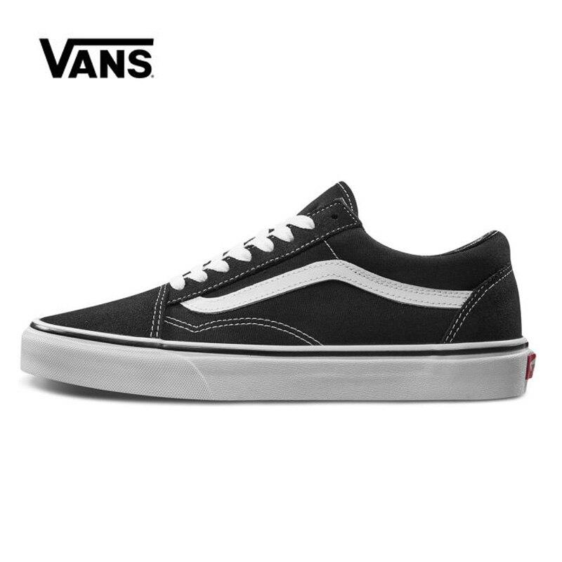 Vans Old Skool Black Shoes Original Men Women Sneakers Unisex Skateboarding Shoes VN000D3HY28