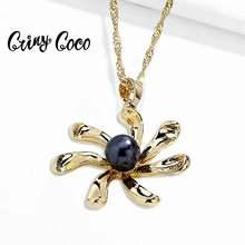 Женские Гавайские ожерелья cring coco цветочный ошейник для