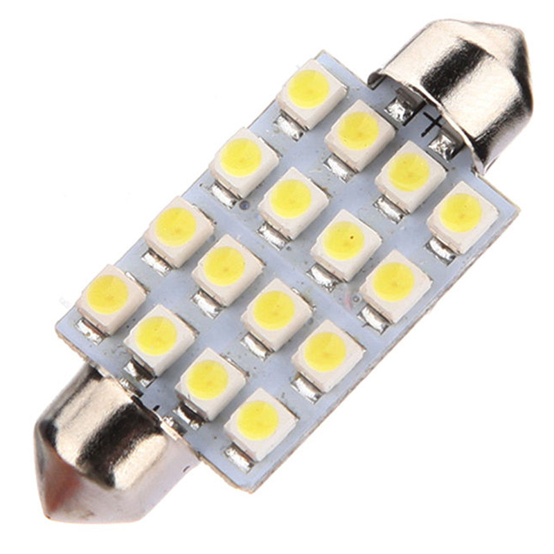 Hao Sink LED Light 41 Size 16SMD 1210 3528 Car LED Double-Pointed Reading Light Cabin Roof Light