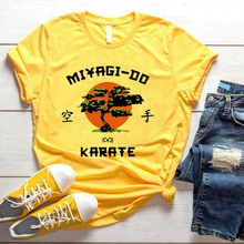 Mr Miyagi Do Karate T Shirt Funny Karate Graphic Cotton Tees