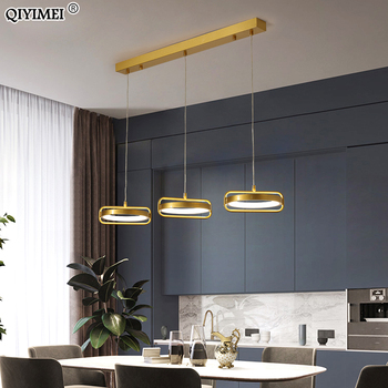 Modern Led Pendant Lamps For Dining Room Parlor Study Indoor Hanging Lighting Lights Decoration Luminaire Fixture Iluminacao Leather Bag