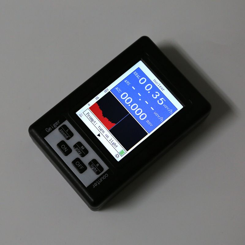 Upgrade Geiger Counter Nuclear Radiation Detector Personal Dosimeter Marble Tester X-ray Beta Gamma Ray Display Screen