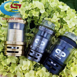 qp fatality m25 rta 4ml 5.5ml Glass tank 25mm Diameter Top airflow Adjustment  Atomizers vs Fatality RTA Juggerknot rta