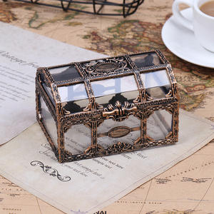 Container Storage-Box Crystal Pirate Plastic for Gem Toy Figures Transparent 1pc Anime