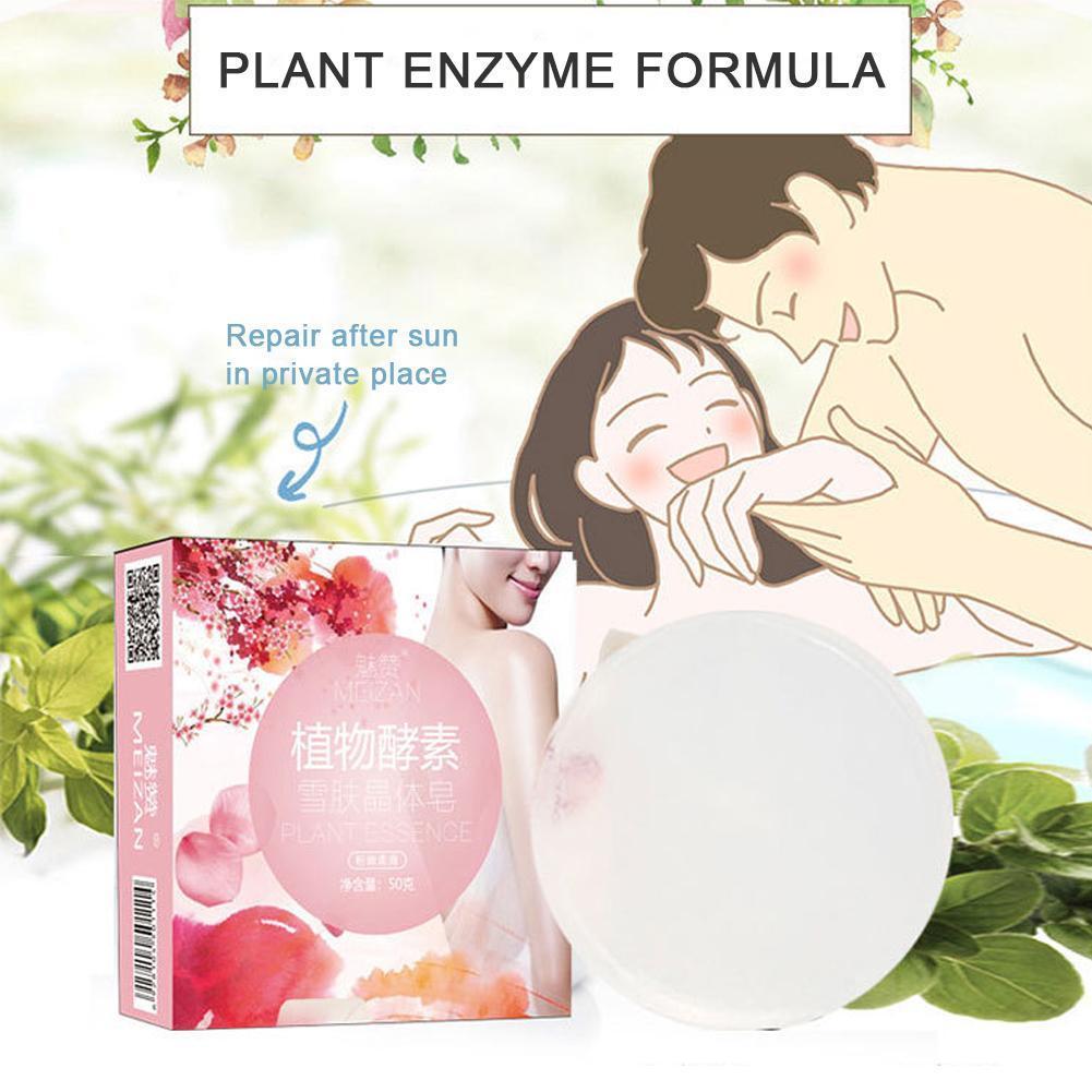 Natural Crystal Soap Skin Body Bath Bleaching Whitening Moisturizing Soap Blackhead Care Soap Anti-Aging Skins