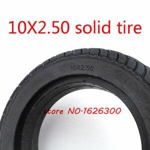 Высокое качество 10x2,50 бескамерные колеса шины твердые шины без надувания электрический скутер шины для 8/10 дюймов электрический скутер аксессуар