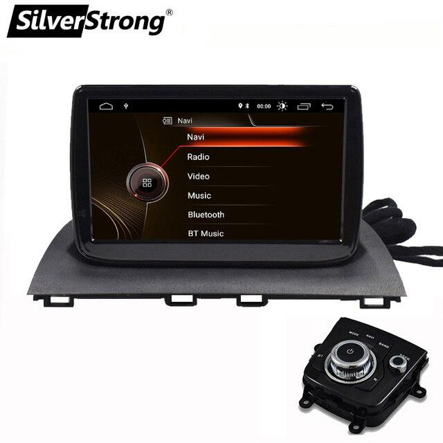 SilverStrong 9 cal Android10.0 Radio samochodowe z gps em dla nowego Mazda3 mazda 3 Axela Radio samochodowe nawigacja wsparcie TPMS