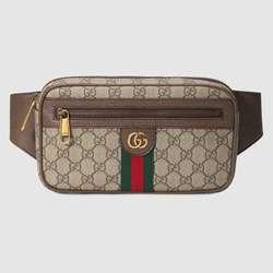 Unisex Gucci Ophidia GG Gürtel Tasche Taille Taschen Frauen Weibliche Gürtel Taille Packs Brust Telefon Beutel 574796 97SIT 8747
