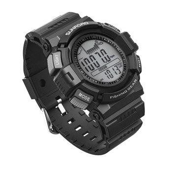 Sunroad smart sports fishing watch z wysokościomierzem wodoodporny męski zegarek odpowiedni sprzęt wędkarski equipemtn fans tanie i dobre opinie CN (pochodzenie) Brak Na nadgarstek Zgodna ze wszystkimi 128 MB Instrukcja 24 godz Budzik CZAS NA ŚWIECIE Stały kalendarz