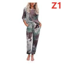 Осенне зимние женские пижамы с леопардовым принтом и галстуком