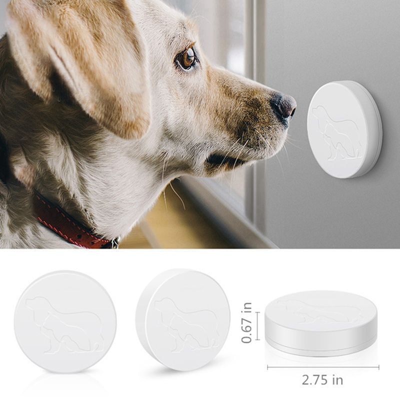 Dog Doorbell Standard Pet Doorbells Wireless Touch Button Dogs Training Doorbells Paw Bell Family Pet Dog Training Bells Hot-4